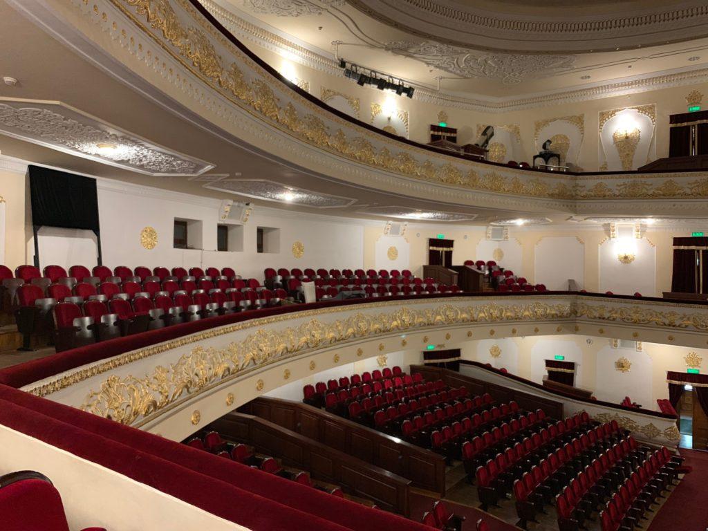 ナヴォイ劇場の客席