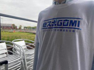 ロゴTシャツの画像